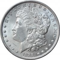 "США 1 доллар 1889 г., UNC, ""Доллар Моргана"""