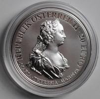 Австрия 20 евро 2017 г., PROOF, '300 лет со дня рождения Марии Терезии - Храбрость и решительность'