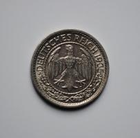 Германия 50 пфеннигов 1935 г. E, UNC, ОЧЕНЬ РЕДКАЯ
