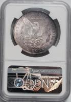 США 1 доллар 1885 г., NGC MS64, 'Доллар Моргана' ПАТИНА