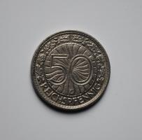 Германия 50 пфеннигов 1935 г. G, XF, ОЧЕНЬ РЕДКАЯ