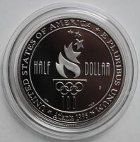 США 50 центов 1996 г. S, PROOF, 'Атланта 1996 - Футбол'