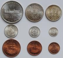 ЮАР набор ¼ пенни - 5 шиллингов 1960 г., UNC, '50 лет Южноафриканскому союзу'