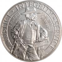 "США 1 доллар 2015 г., BU, ""225 лет Службе маршалов США"""