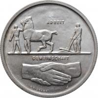 """Швейцария 5 франков 1939 г., UNC, """"Выставка в Цюрихе"""""""