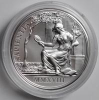 Австрия 20 евро 2018 г., PROOF, '300 лет со дня рождения Марии Терезии - Мудрость и реформы'