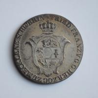 Мекленбург-Шверин 2/3 талера 1813 г., XF, 'Великий герцог Фридрих Франц I (1785 - 1837)'