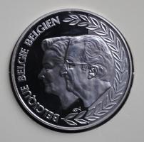 Бельгия 250 франков 1999 г., PROOF, '40-летие годовщины свадьбы Альберта и Паолы'