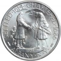 """США 50 центов 1936 г., PCGS MS64, """"250 лет признанию городом Олбани"""""""
