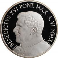"""Ватикан 10 евро 2010 г., PROOF, """"43-й Всемирный день мира"""""""