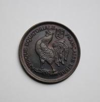Французская Экваториальная Африка 50 сантимов 1943 г., UNC, 'Колония Франции (1942-1958)'
