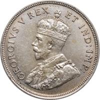"""Британская Восточная Африка 1 шиллинг 1924 г., AU, """"Король Георг V (1911 - 1937)"""""""