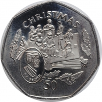 "США 1 доллар 1922 г., UNC, ""Мирный доллар"""