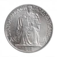 """Ватикан 1 лира 1947 г., BU, """"Папа Пий XII (1939 - 1958)"""""""