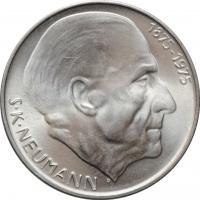 """Чехословакия 50 крон 1975 г., BU, """"100 лет со дня рождения Станислава Костка Неймана"""""""
