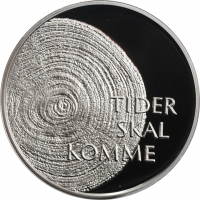 "Норвегия 100 крон 1999 г., PROOF, ""2000 год - Миллениум"""
