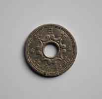 Япония 5 сенов 1934 г., 'Хирохито (Сёва) (1926-1950)'