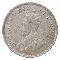 """Британская Восточная Африка 1 шиллинг 1921 г., AU, """"Король Георг V (1911 - 1937)"""""""