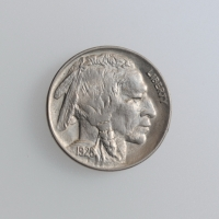 "США 5 центов 1928 г., AU, ""Buffalo Nickel"""