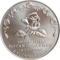 """США 1 доллар 1997 г., BU, """"175 лет Ботаническому саду"""""""