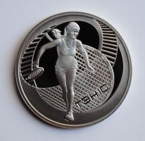 Беларусь 1 рубль 2005 г., PROOF, 'Теннис'