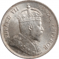 """Гонконг 10 центов 1904 г., BU, """"Король Эдуард VII (1902 - 1910)"""""""