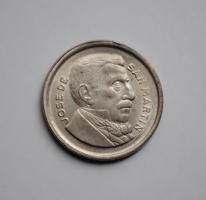 Аргентина 50 сентаво 1964 г., 'Песо аргентинское (1881-1969)'