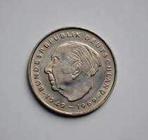 ФРГ 2 марки 1973 г. G, 'Теодор Хойс, 20 лет Федеративной Республике (1949-1969)'