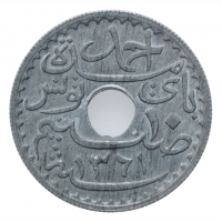 "Тунис 10 сантимов 1942 г., BU, ""Французский протекторат (1890 - 1957)"""