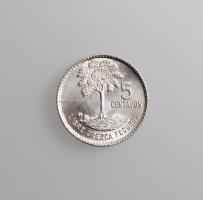 "Гватемала 5 сентаво 1964 г., BU, ""Республика Гватемала (1949 - 2017)"""