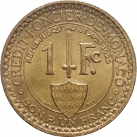 "Люксембург 100 франков 1946 г., UNC, ""600 лет со дня смерти Иоганна Люксембургского"""