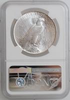"США 1 доллар 1922 г., NGC MS64, ""Мирный доллар"""