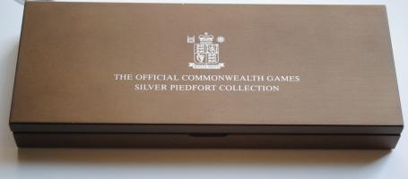 """Великобритания набор 2 фунта 2002 г., PROOF PIEDFORT, """"XVII Игры Содружества, Манчестер"""""""