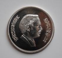 Иордания 3 динара 1977 г., PROOF, 'Охрана окружающей среды'