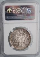 """Брауншвейг 3 марки 1915 г., NGC MS64+, """"Свадьба и вступление на престол Эрнста Августа"""""""