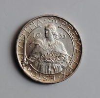 Сан-Марино 10 лир 1935 г., UNC, 'Республика 1864 - 1938)'