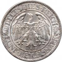 "Германия 5 рейхсмарок 1930 г. A, UNC, ""Веймарская Республика (Рейхсмарка) (1924 - 1938)"""