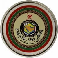 "Оман 1 риал 2008 г., PROOF, ""29-й Саммит Совета стран Персидского залива в Маскате"""
