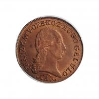 "Австрия 1/2 крейцера 1812 г. A, UNC, ""Император Франц II (1806 - 1835)"""