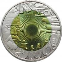 """Австрия 25 евро 2008 г., BU, """"Искусственное освещение"""""""