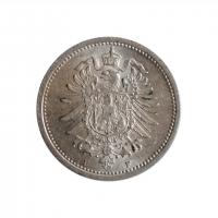 """Германия 20 пфеннигов 1876 г. F, UNC, """"Германская Империя (1871 - 1922)"""""""