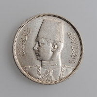 """Египет 10 пиастров 1939 г. UNC, """"Король Фарук I (1936 - 1952)"""""""
