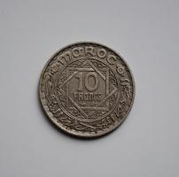 Марокко 10 франков 1947 г., 'Французский протекторат (1921 - 1956)'