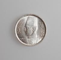 """Египет 2 пиастра 1942 г., UNC, """"Король Фарук I (1936 - 1952)"""""""