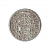 """Зальцбург 4 крейцера 1729 г., UNC, """"Граф Леопольд Антон (1727 - 1744)"""""""