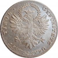 """Австрия (Тироль) 20 крейцеров 1809 г. A, UNC, """"Борьба за свободу Андреасом Хофером"""""""