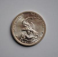 Пруссия 2 марки 1913 г., BU, '100 лет объявлению войны против Франции'