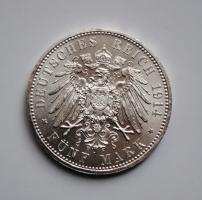 Пруссия 5 марок 1914 г., BU, 'Император Вильгельм II (1888-1918)'