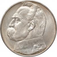 """Польша 10 злотых 1935 г., UNC, """"Вторая Республика (1919 - 1939)"""""""
