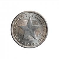 """Куба 10 сентаво 1949 г., UNC, """"Республика Куба (1915 - 1961)"""""""